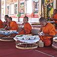 Vientiane - petits moines